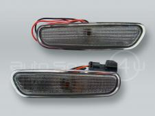 DEPO Rear Smoke Bumper Turn Signal Lights Side Markers PAIR fits 1996-2000 VOLVO S40 V40