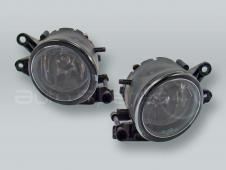 Fog Lights Driving Lamps Assy with bulbs PAIR fits 2005-2007 VOLVO S40