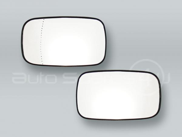 Heated Door Mirror Glass and Backing Plate PAIR fits 2005-2006 VOLVO S40 V50