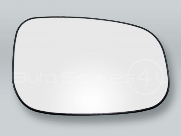 Convex Heated Door Mirror Glass and Backing Plate RIGHT fits 2007-2011 VOLVO S40 V50
