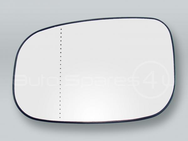Heated Door Mirror Glass and Backing Plate LEFT fits 2007-2011 VOLVO S40 V50