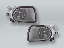 TYC Fog Lights Driving Lamps Assy with bulbs PAIR fits 2005-2007 VOLVO V50