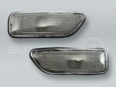 TYC Smoke Fender Side Marker Lights PAIR fits VOLVO S60 V70 S80 XC90