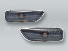 DEPO Smoke Fender Side Marker Lights PAIR fits VOLVO S60 V70 S80 XC90