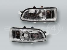 Door Mirror Turn Signal Lamps Lights PAIR fits 2007-2010 VOLVO S60 V70
