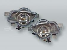 DEPO Fog Lights Driving Lamps Assy with bulbs PAIR fits 2001-2004 VOLVO V70