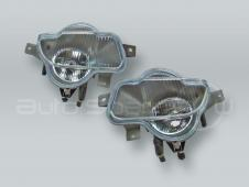 TYC Fog Lights Driving Lamps Assy with bulbs PAIR fits 2001-2004 VOLVO V70