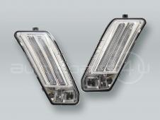 LED Fender Side Marker Turn Signal Lights PAIR fits 2010-2013 VOLVO XC60
