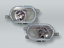TYC Fog Lights Driving Lamps Assy with bulbs PAIR fits 2003-2012 VOLVO XC90