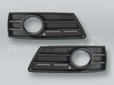 Front Bumper Fog Light Grille PAIR fits 2009-2012 VW CC