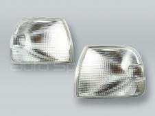 TYC Clear Corner Lights Parking Lamps PAIR fits 1999-2003 VW Eurovan