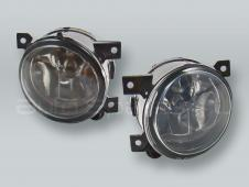 Fog Lights Driving Lamps Assy with bulbs PAIR fits 2006-2009 VW GTI MK5