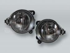 Fog Lights Driving Lamps Assy with bulbs PAIR fits 2006-2009 VW Rabbit Golf MK5