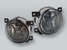 Fog Lights Driving Lamps Assy with bulbs PAIR fits 2005-2010 VW Jetta