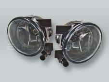 Fog Lights Driving Lamps Assy with bulbs PAIR fits 2011-2015 VW Jetta