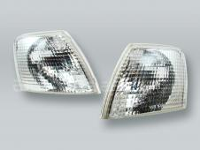 TYC Clear Corner Lights Parking Lamps PAIR fits 1998-2001 VW Passat