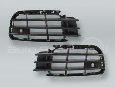 Front Bumper Lower Side Grille PAIR fits 2011-2014 VW Touareg