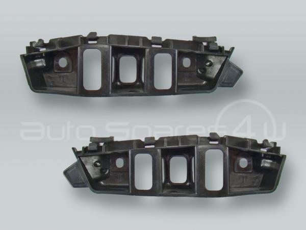 Front Bumper Guide Brackets PAIR fits 2011-2014 VW Touareg